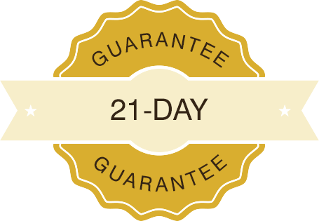 21-Day Rental Guarantee